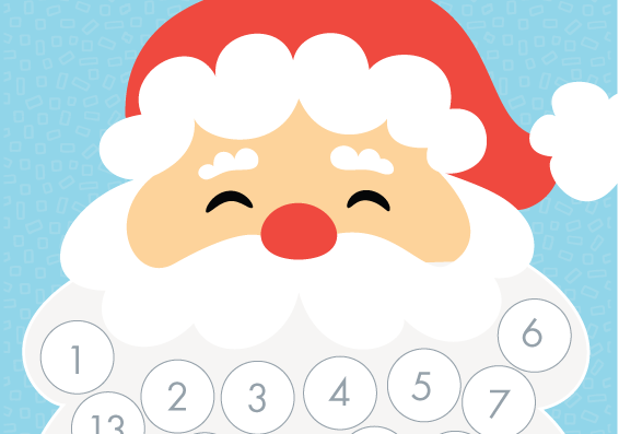 Santa Countdown Calendar Printables | Search Results | Calendar 2015