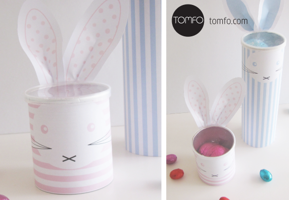 make easter gifts pringles containers