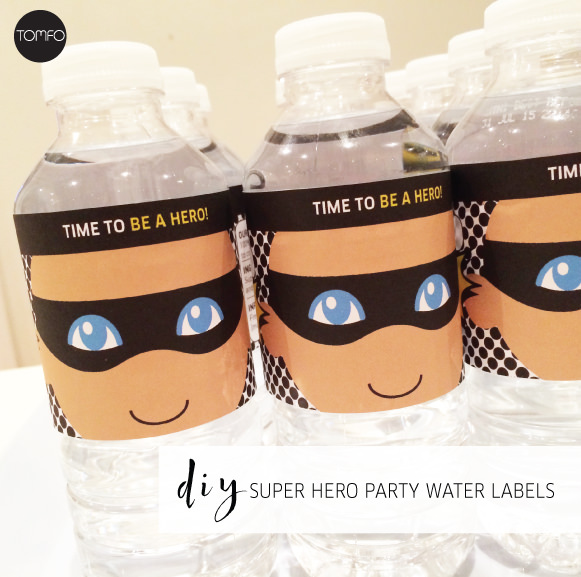 tomfo-super-hero-partyWATER-LABELS