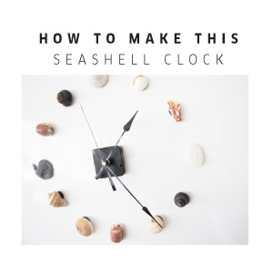 TOMFO-DIY-MAGNETIC-SEASHELL-CLOCK