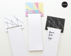 TOMFO-DIY-magnetic-list-holder