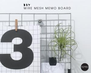 TOMFO-DIY-Wire-mesh-memo-board