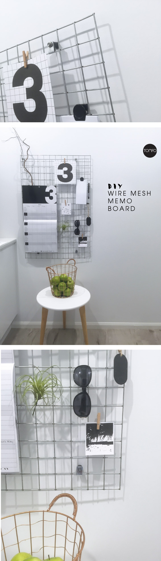 TOMFO-Diy-memo-wire-board