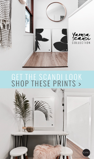 Yamba Scandi Collection | Tomfo | Scandinavian prints | black & white prints | wall art decor