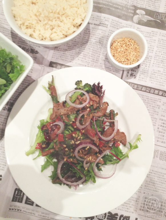 TOMFO-THAI-BEEF-SALAD-WITH-CRANBERRIES