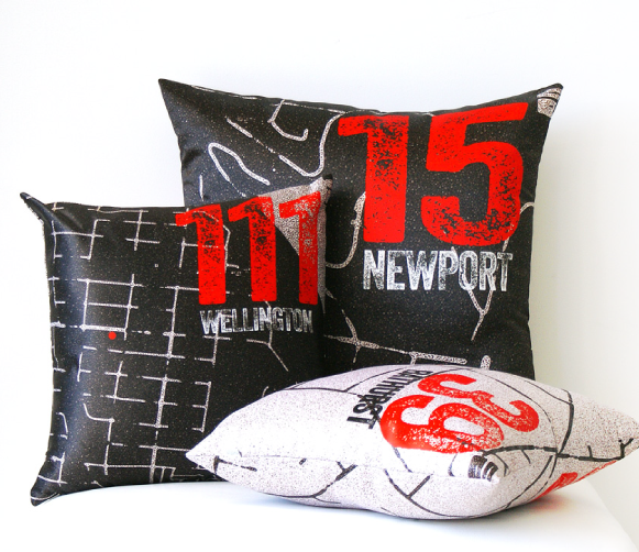 TOMFO-PERSONALISED-MAP-ART-cushions-group