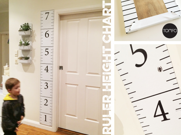 Diy Ruler Growth Chart Tomfo