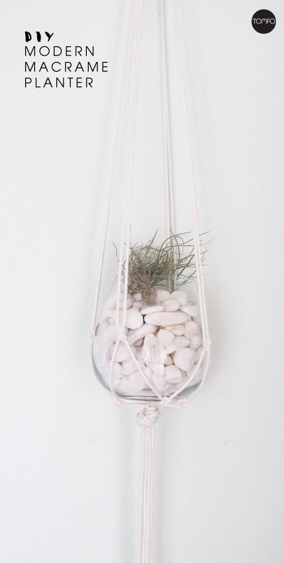 TOMFO-DIY-modern-macrame-hanging-plant