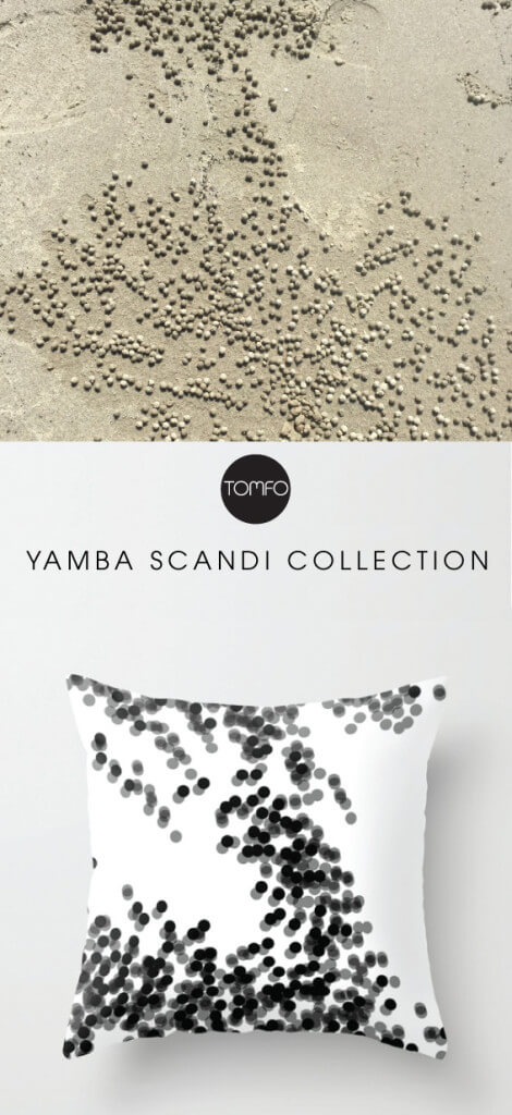 Where-the-crabs-live-cushion-Yamba-Scandi-Collection-Tomfo