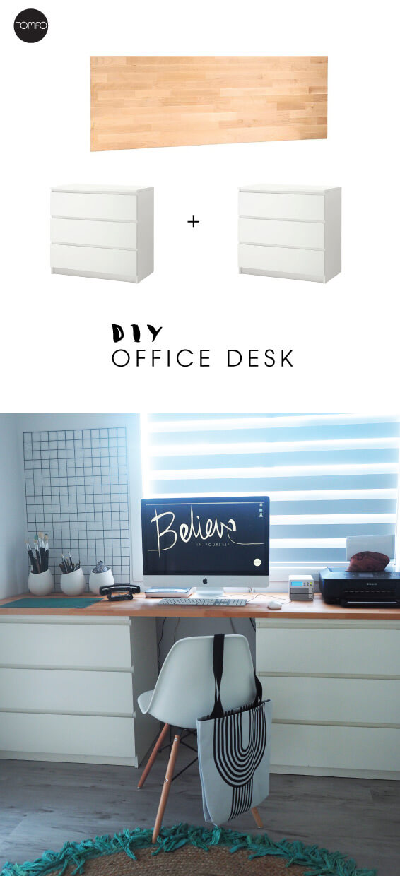 DIY-office-Desk-with-drawers-Tomfo