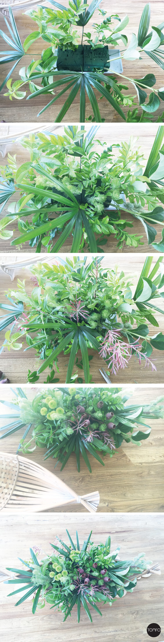 TOMFO-Easy-Diy-Flower-arrangement-with-garden-plants