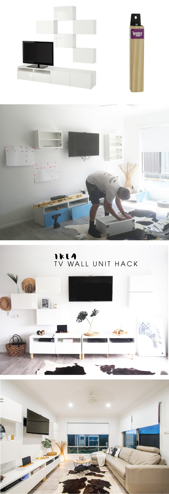 TOMFO Ikea Tv Wall Unit