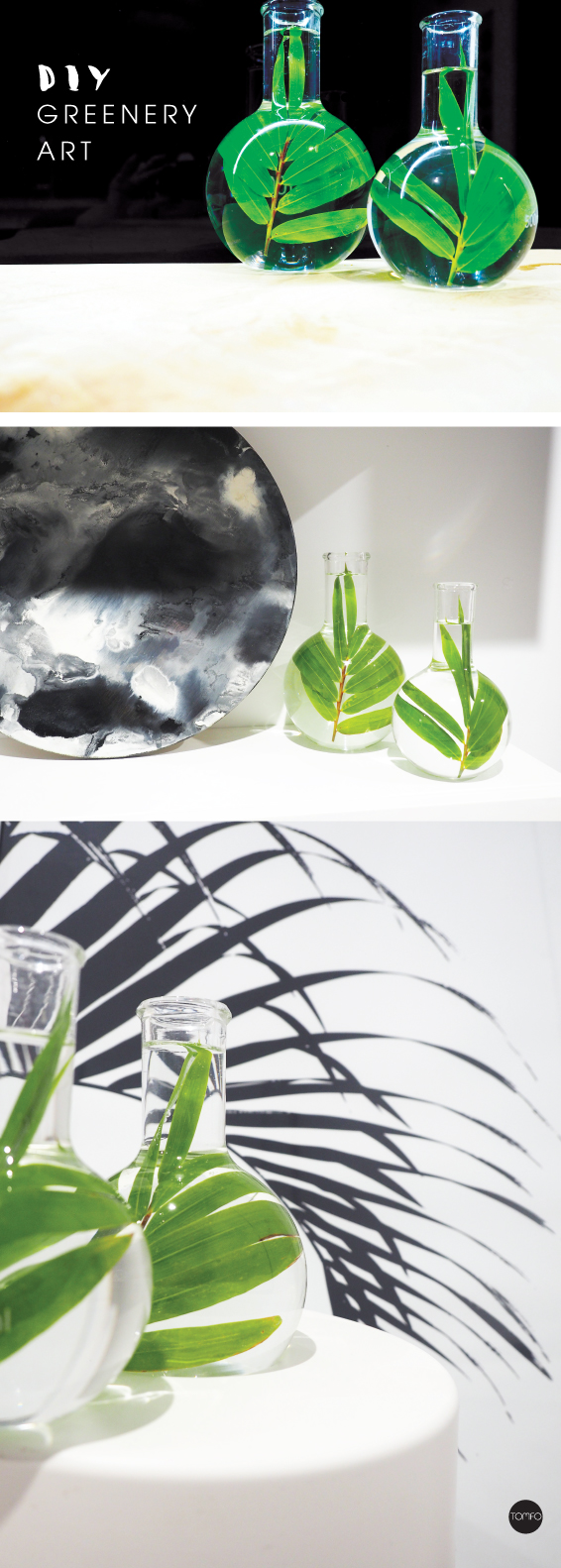 DIY-5-min-Glass-Greenery-art-TOMFO