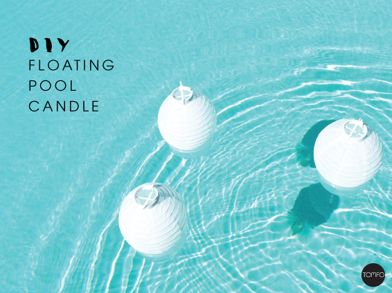 Diy Floating Pool Candle Lights Tomfo