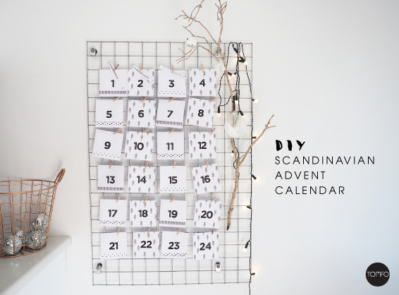 Diy scandinavian advent calendar tomfo diy scandinavian advent calendar tomfo solutioingenieria Gallery